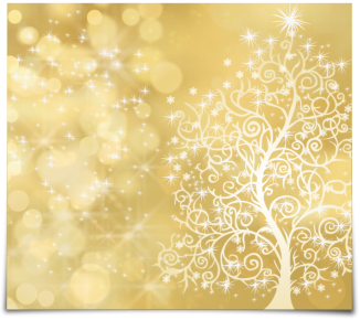 Tree in gold