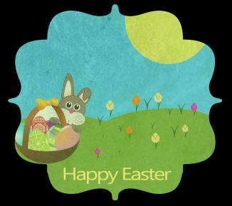 Bunny & Easter basket