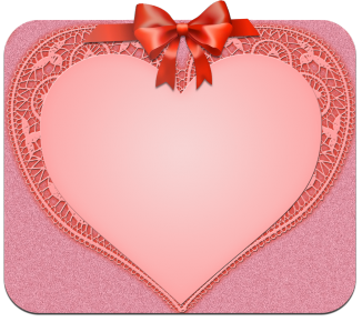 Heart and bow