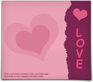 Love Notes Promo