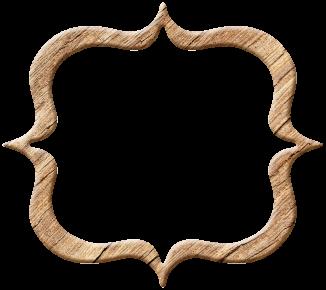 Fancy wood frame