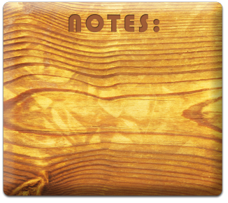 Notes wood