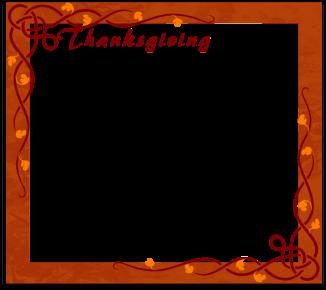 Thanksgiving frame 1