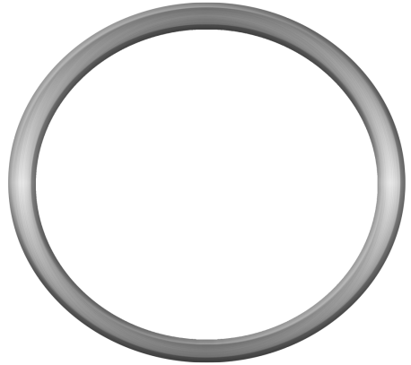 NOS Apps Templates - Humor - Category: Picture frames - Image: Round metal frame